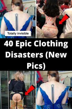 40 Epic Clothing Disasters (New Pics) Fashion Fail, Funny Fashion, Fashion Humor, Clothing Fails, Epic Fail Pictures, Bowling Shirts, Funny Fails, Funny Memes, Jokes