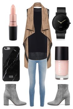 """Untitled #8"" by aepilling ❤ liked on Polyvore featuring Givenchy, taylor x ISBIM, Mat, Gianvito Rossi, Native Union, MAC Cosmetics and South Lane"