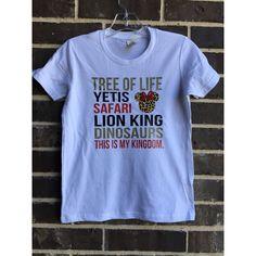 Animal Kingdom Shirt Castle Tshirts Subway Art Princess Lion King... ($32) ❤ liked on Polyvore featuring tops, t-shirts, grey, women's clothing, graphic t shirts, reversible t shirts, t shirt, loose shirts and unisex t shirts