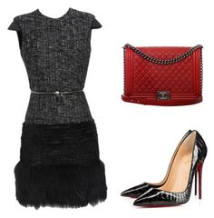 """Untitled #1126"" by carlene-lindsay ❤ liked on Polyvore featuring Alexander McQueen and Chanel"