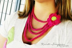 Free #crochet necklace pattern from @RAKJpatterns