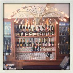 Champagne Bar, Kettners, Soho, London.
