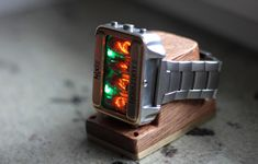 A Nixie Tube Watch With Impressive Features - Core77