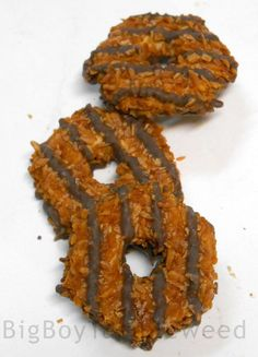 Great Value Caramel toasted Coconut Chocolate Fudge cookies 8.5 oz  snack sweet