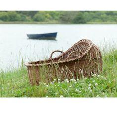 House and Home Moses Basket, Enjoy It, Crafts For Kids, Outdoor Decor, Handmade, Beautiful, Ireland, Hand Made, Irish