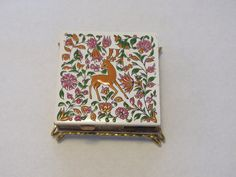 Vintage match and cigarette box by GiftedEnrichment on Etsy