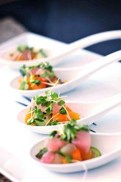 Gorgeous food. Moana Events. #hawaii #kauai #wedding #food #catering #gorgeous