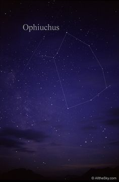 Visual Constellation Photos - Ophiuchus, the serpent bearer