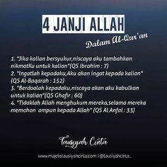 Quotes Rindu, Pray Quotes, Quran Quotes Love, Quotes About God, Life Quotes, Beautiful Quran Quotes, Quran Quotes Inspirational, Reminder Quotes, Self Reminder