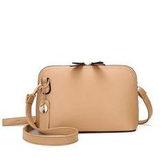 9c552e71b Six senses women Small handbag pu leather Messenger Bags Crossbody shell bag  lady clutches fashion shoulder bag bolsas