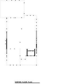 Craftsman Style House Plan - 2 Beds 2 Baths 999 Sq/Ft Plan #895-25 Floor Plan - Upper Floor Plan - Houseplans.com