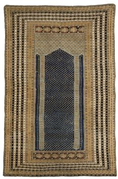 A Kula prayer rug, Central Anatolia, late 18th century