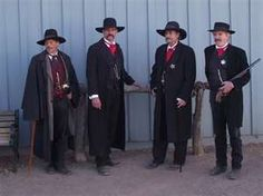 Tombstone, Arizona - assembling for the Gunfight at the OK Corral?