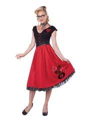 Rock n Roll Sweetheart Womens Costume