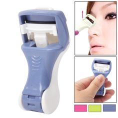 Manual Rubber Liner Eyelash Curler Eye Lashes Enhancement Makeup Item (Random Color Delivery)