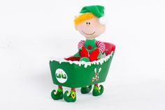 Your Elf Friend relaxing in his very own Bubbly Bathtub