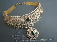 New Model Diamond Choker Necklace Designs, New Model Diamond Necklace Designs, Indian Diamond Necklace New Models.