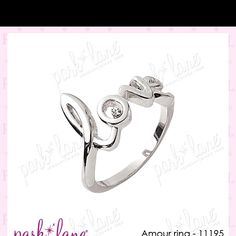 Adorable!! Amour ring- Jewels by Parklane