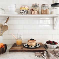 "simply-divine-creation: "" Jessica Kesti "" breakfast in kitchen"