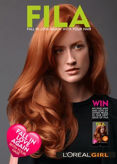 L'Oreal Girl E Magazine - Beautiful Hair Styles - Fabulous Colour Trends and everything L'Oreal Fall in Love Again with your hair Never Love Again, Falling In Love Again, Redken Hair Color, Redken Hair Products, Hotel California, Give It To Me, Let It Be, Hair Magazine, Latest Hairstyles