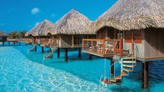 Glass floor bungalows in Bora Bora... :o)