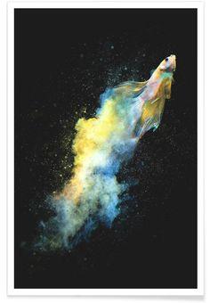 Falling Out als Premium poster door Dániel Taylor   JUNIQE shop