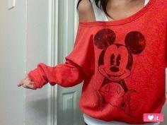Fashion. Micky Mouse.
