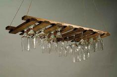 creative wine glass holder - Bing Images