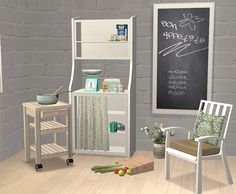 Cottage and shabby chic furniture and decoration
