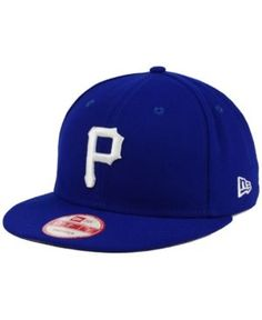 New Era Pittsburgh Pirates C-Dub 9FIFTY Snapback Cap - Blue Adjustable