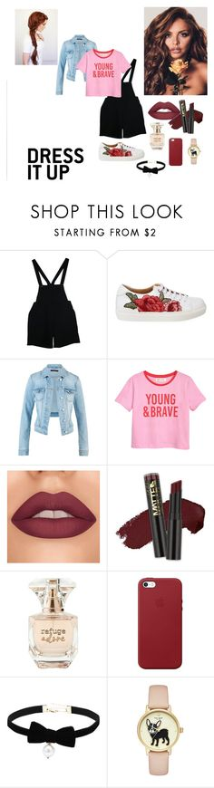 Young and Brave by oriana16011998 on Polyvore featuring moda, American Apparel, Apple, L.A. Girl and Refuge