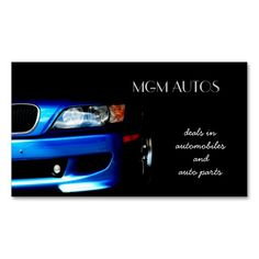 60 best automotive business cards images on pinterest business automotive business cards flashek Image collections
