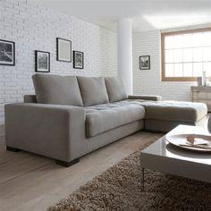 Canapé d'angle, fixe ou convertible, coton demi-natté, Arlon La Redoute Interieurs (soldé à 701Euros)