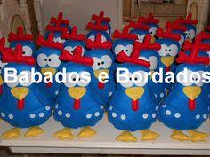 Babados & Bordados: Pronta Entrega:Galinha Pintadinha!!