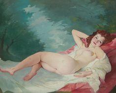 Maria Szantho - Reclining nude #22