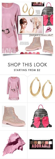 """Adorable"" by mahafromkailash ❤ liked on Polyvore featuring Betsey Johnson, Bobbi Brown Cosmetics, Charlotte Russe and Kjaer Weis"
