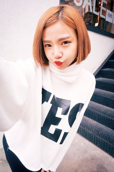 Short Hair HAIR Pinterest Short Hair Shorts And Girls - Korean hairstyle on tumblr