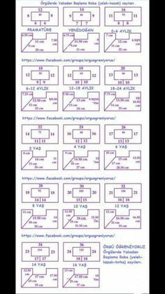 Baby Knitting Patterns Techniques This Pin was discovered by bed Baby Knitting Patterns, Baby Dress Patterns, Knitting For Kids, Knitting Stitches, Crochet Patterns, Crochet Baby Sweaters, Crochet Clothes, Crochet Diagram, Crochet Chart