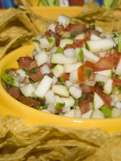 Granny Smith Apple Salsa