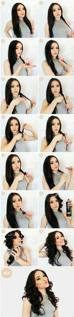 Presume un #peinado con ondas sin dañar tu cabello. Aquí te enseñamos cómo ondular tu cabello sin calor. #OndasSinCalor #Peinados #Cabello #Estilo