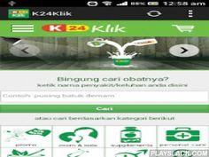 K24klik  Android App - playslack.com ,  K24klik - Apotek Online Terlengkap Asli Indonesia adalah Apotik Online yang menyediakan penjualan segala macam obat asli, alat kesehatan, kosmetik, dan berbagai macam vitamin untuk anda di mana saja dan kapan saja.K24klik - bekerjasama dengan jaringan luas Apotek K-24Asli Komplit Cepat24 Jam lindungi anda dan keluargamin requirements- OS 2.3(Gingerbread)- RAM 1GB