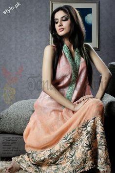 Tena Durrani Latest Formal & Semi Formal Dresses 2012 1