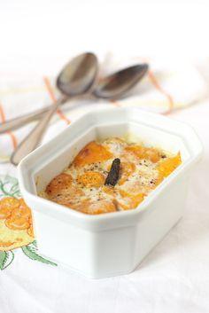Gratin de patate douce à la mimolette et poivre long