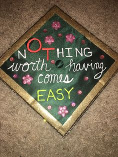 Occupational Therapy graduation cap #OT #OccupationalTherapy