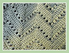 Ravelry: Speedy Puff Blanket free crochet pattern by Jennifer Cirka Jaybird Designs