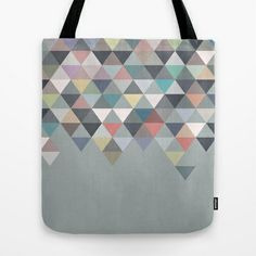 Nordic Combination 20 Tote Bag by Mareike Böhmer Graphics - $22.00