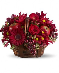 Red Delicious Floral Arrangement