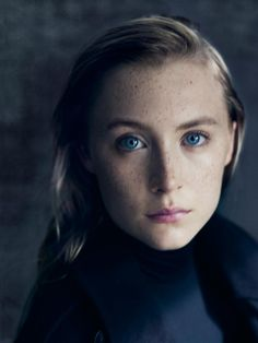 Saoirse Ronan, photographed by Paolo Roversi for The NY Times T Style magazine, winter 2013.