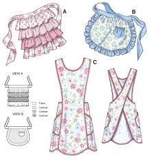 Image result for different apron ties