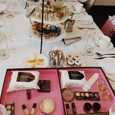 """What's more magical than mini desserts, a preview of @avoninsider's new @markgirl collection by @kdeenihan, and a tea party with brand ambassador @lucyhale? Nothing. We're so excited about the upcoming Buenos Aires collection! #sneakpeek #makeup #beautyjunkies #summer"" -totalbeautyeditors Instagram"